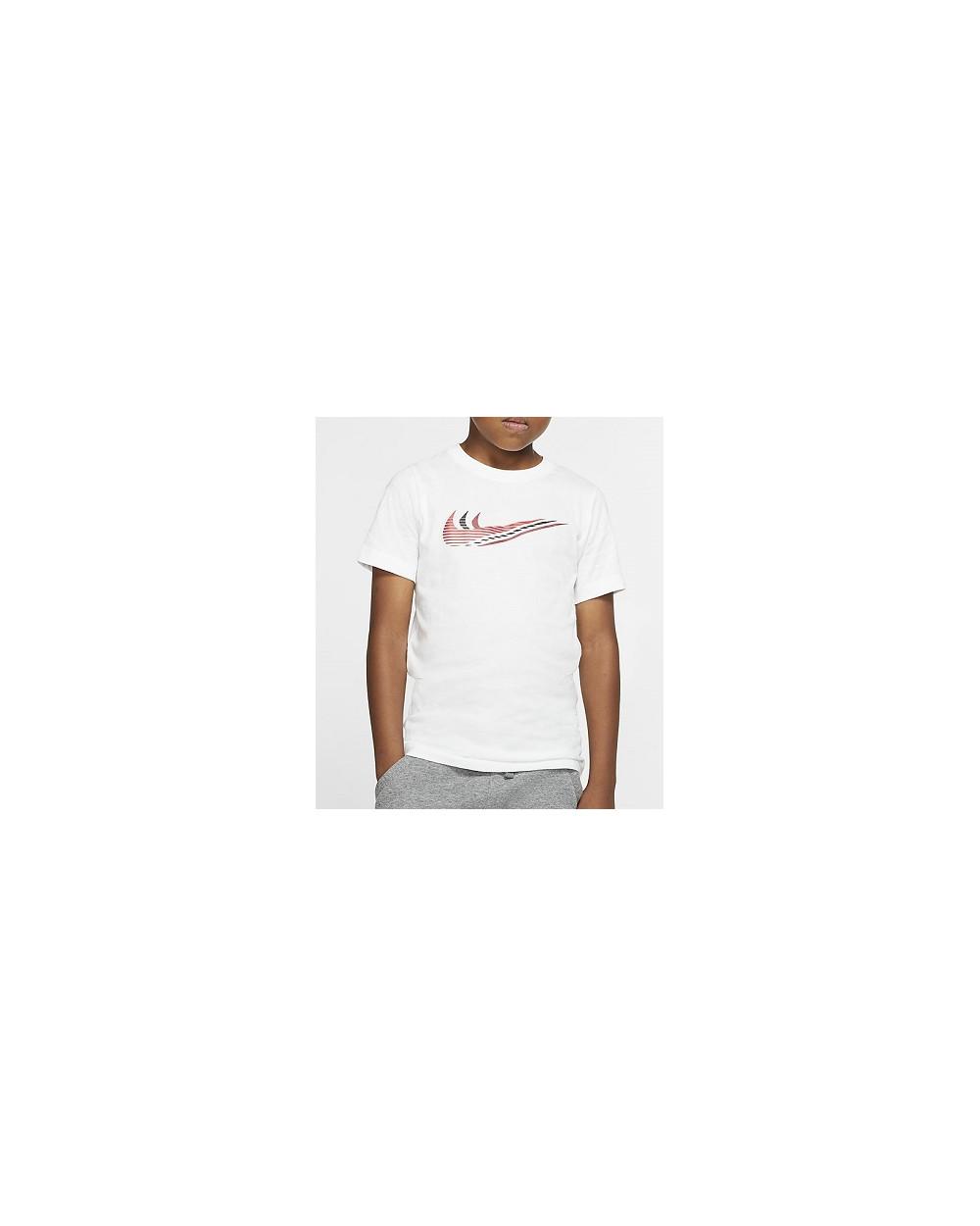 T-SHIRT NIKE BAMBINO CU4572-100