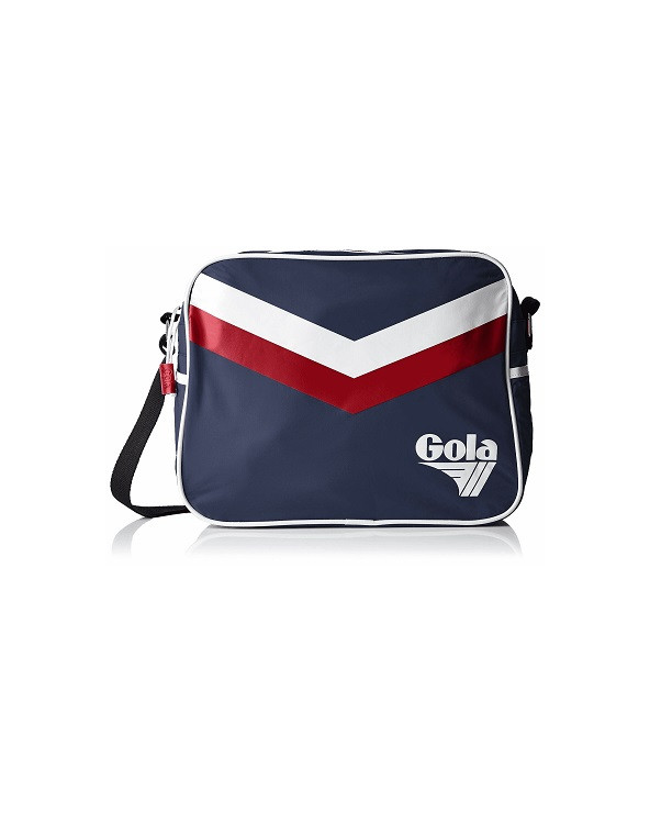TRACOLLA GRANDE GOLA CUC178 NAVY/DEEP RED/WHITE